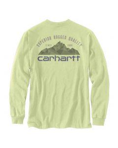 Carhartt Pocket Mountain T-shirt Pastel Lime