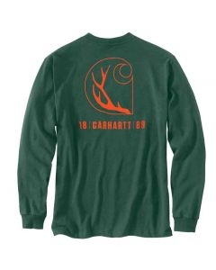 Carhartt Loose Fit Antler T-Shirt North Woods Heather