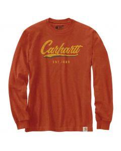 Carhartt Loose Fit Hand-Painted T-Shirt Jasper Heather