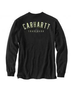 Carhartt Loose Fit Trademark T-Shirt Black