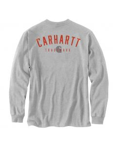 Carhartt Loose Fit Trademark T-Shirt Heather Grey