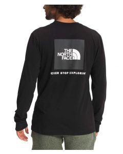 The North Face Men's Box NSE T-Shirt TNF Black Asphalt Grey