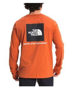 The North Face Men's Box NSE T-Shirt Burnt Ochre
