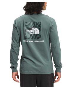 The North Face Men's Box NSE T-Shirt Balsm Green