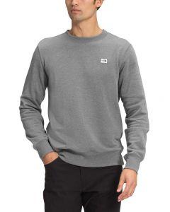 The North Face Men's Heritage Patch Sweatshirt TNF Medium Grey Heather