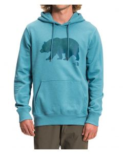 The North Face Men's TNF Bear Pullover Hoodie Storm Blue