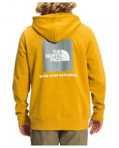 The North Face Men's Box NSE Pullover Hoodie Arrow Yellow