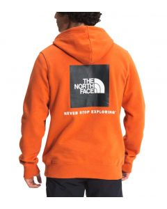 The North Face Men's Box NSE Pullover Hoodie Burnt Ochre