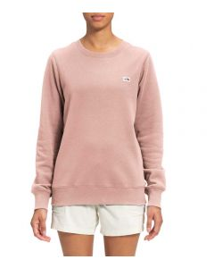 The North Face Women's Heritage Patch Crew Evsndpnk