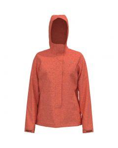 The North Face Women's Venture 2 Jacket Emberglow Orange Heather