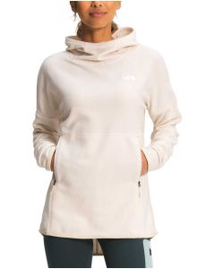 The North Face Women's Tka Glacier Pullover Hoodie Grdwhite