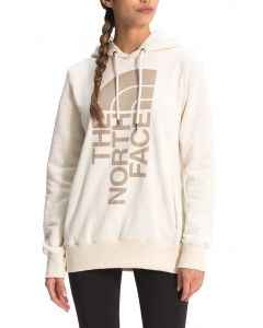 The North Face Women's Trivert Pullover Hoodie Vintage White