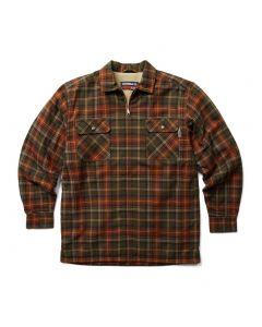 Wolverine Men's Marshall Shirt Jacket Mahogany Plaid