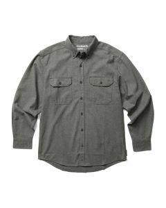 Wolverine Men's Glacier Flannel Shirt Charcoal Heather