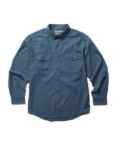 Wolverine Men's Glacier Flannel Shirt Navy Heather