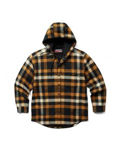 Wolverine Bucksaw Shirt Jacket Cedar Plaid
