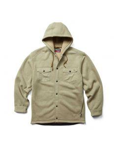 Wolverine Bucksaw Knit Shirt Jacket Coyote Heather