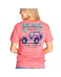 Simply Southern Women's Fall T-Shirt Begonia
