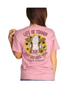 Simply Southern Women's Tough T-Shirt Crepe