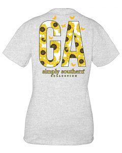 Simply Southern Women's Georgia T-Shirt Ash