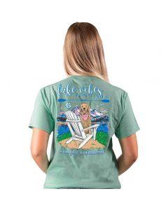 Simply Southern Women's Lake T-Shirt Sea