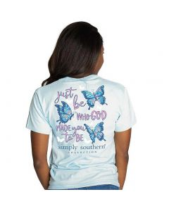Simply Southern Women's Just Be T-Shirt Ice