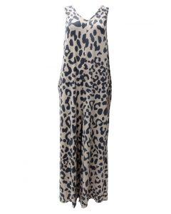 Very Moda Women's Jumpsuit Leopard