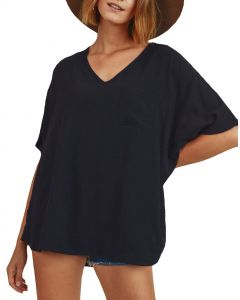 Jodifl Women's Boxy Top Black