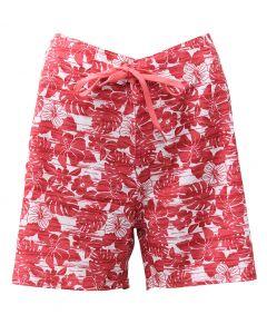 Stillwater Supply Co. Ladies Stretch Boardshorts Red