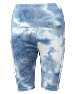 Boom Boom Jeans Active Biker Shorts Indigo