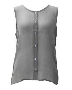 Stillwater Supply Co. Ladies Chiffon Tank Grey