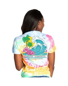 Simply Southern Women's Repeat T-Shirt Classic
