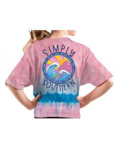 Simply Southern Women's Save Turtle T-Shirt Candy
