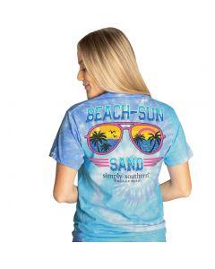 Simply Southern Women's Aviator T-Shirt Tide