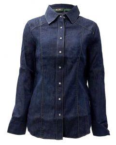 Stillwater Supply Co. Ladies Western Shirt Denim