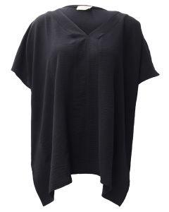Oddi V-Neck Tunic Black