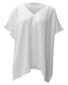 Oddi V-Neck Tunic Off White
