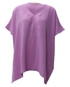 Oddi V-Neck Tunic Lilac
