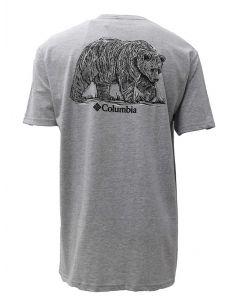 Columbia Sportswear Crum T-Shirt Heather Grey