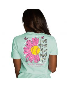 Simply Southern Soft Mom T-Shirt Celedon