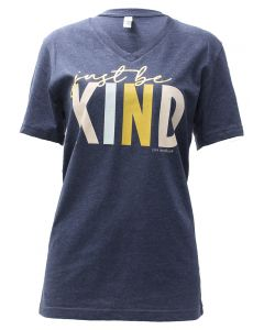 Pink Armadillo Just Be Kind T-Shirt Navy Heather