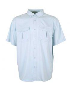 Aftco Rangle Vented Shirt Light Blue