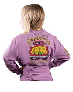 Simply Southern Look T-Shirt Iris
