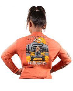 Simply Southern Wheel T-Shirt Tiger