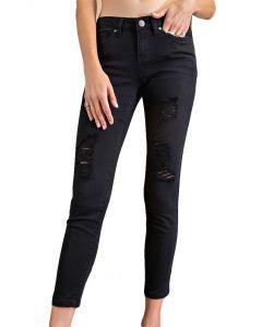 Easel Denim Jeans Black