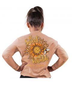 Simply Southern Bumble T-Shirt Latte