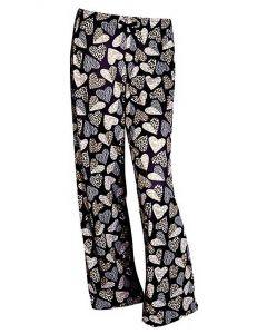 Amanda Blu Lounge Pant Leopard Hearts