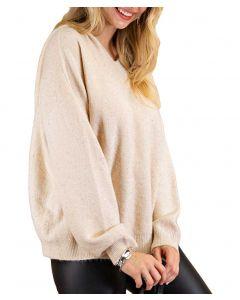 Kori America Glitter Sweater Natural