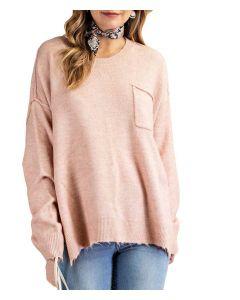 Kori America Knit Sweater Mauve