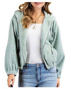 Kori America Short Cord Jacket Sage